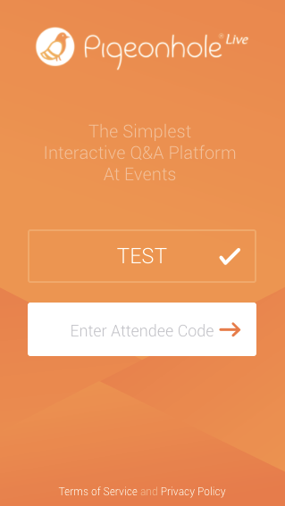 Pre-created-Attendee-Profile-enter-attendee-code-1